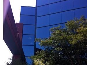 Commercial Solar Security Window Film Tint Installation - Fairfax, VA
